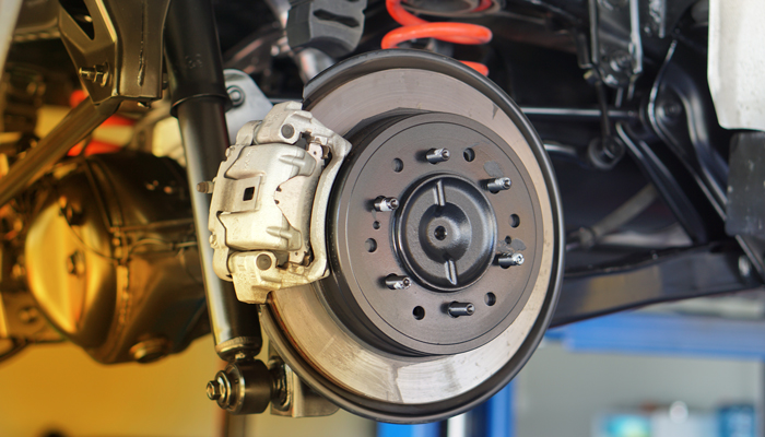 How does the brake system work?